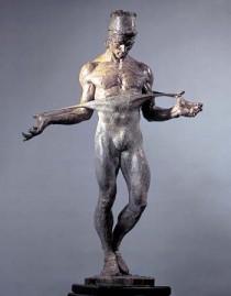 """Nureyev"" 1/2 Life Size Bronze Sculpture by Richard MacDonald"