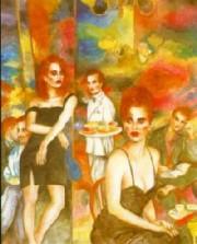 """""""Love, Life & Money, Part I"""" Serigraph by Joanna Zjawinska"""