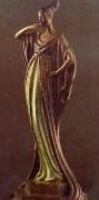 """""""An Evening In 1922"""" Bronze Sculpture by Erte"""