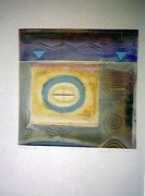 """Avalon III"" Monoprint by Richard Quinn"
