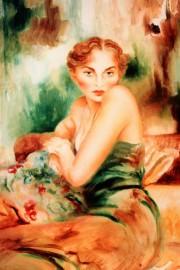 """Odalisque"" Serigraph by Joanna Zjawinska"