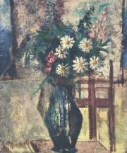 """""""Composition Floral"""" Original Oil on canvas by Alexandre Minguet"""