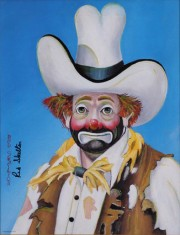 """""""The New Stetson"""" Serigraph by Red Skelton"""