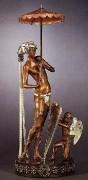 """""""Helen of Troy"""" a Bronze Sculpture by Erte"""
