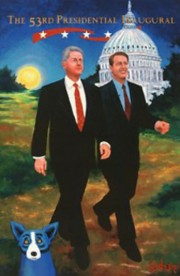 """""""The 53rd Presidential Inaugural"""" Limited Edition Silkscreen by George Rodrigue"""