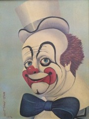 """""""Lord 'Elp Us"""" Serigraph on Canvas by Red Skelton"""