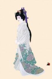 """""""Hanayome Purity"""" Mixed Media graphic by Hisashi Otsuka"""