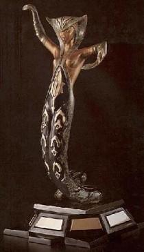 """""""La Jalousie"""" Bronze Sculpture by Erte"""