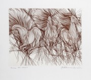 """""""Andante"""" Etching by Guillame Azoulay"""