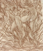 """""""Autre Saules Suite""""  Etching Suite by Guillame Azoulay"""