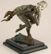 The Piper Draped Bronze Sculpture by Richard MacDonald