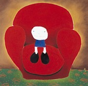 """Love Seated"" Serigraph by MacKenzie Thor[e"