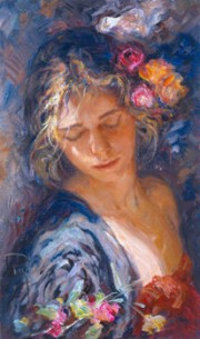 """""""Luces y Sombras"""" Hand-Pulled Serigraph by Royo"""