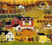 """Butternut Farms"" Lithograph by Charles Wysocki"
