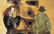 """Startled"" serigraph by Joanna Zjawinska"