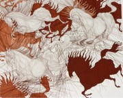 """""""Suite State II"""" Etching by Guillame Azoulay"""