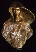 """""""The Source - Bust"""" Bronze Sculpture by Frederick Hart"""