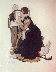 """Summer Stock"" Lithograph by Norman Rockwell"