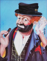 """The Philosopher"" Serigraph by Red Skelton"