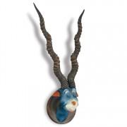 """""""Blue Green Abelard""""  Hand-Painted Cast Resin Sculpture by Dr. Seuss"""