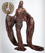 """Wisdom"" AP Bronze Sculpture by Erte"