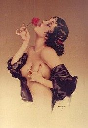 """Memories of Olive"" Lithograph/Arches by Alberto Vargas"