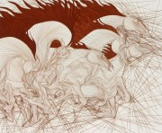 """""""Regain"""" Etching by Guillame Azoulay"""