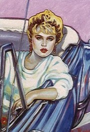 """""""Sunset Boulevard"""" Serigraph by Colleen Ross"""