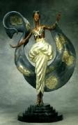 """Dream Girl"" Bronze Sculpture by Erte"