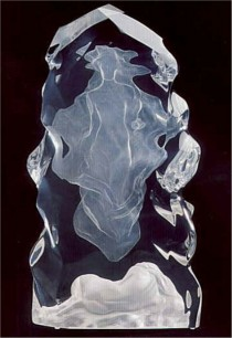 """""""Echo of Silence"""" Acrylic Sculpture by Frederick Hart"""