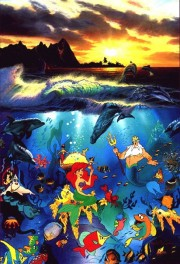 Under the Sea Artagraph on paper by Christian Riese Lassen