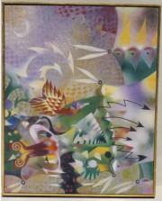 """Untitled"" Original Oil/Canvas by Leonel Maciel"