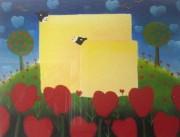 """Love Me Tender"" Serigraph by MacKenzie Thorpe"