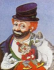 """""""Freddie, Kitty & Jack"""" Serigraph by Red Skelton"""
