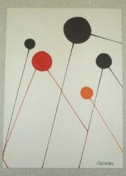"""""""Balloons"""" unsigned Lithograph by Alexander Calder"""