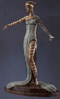 """""""La Merveillieuse"""" Bronze Sculpture by Erte"""
