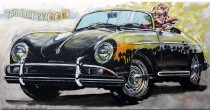 """""""L.A."""" Limited Edition Giclee on Paper, Canvas or Aluminum by Michael Bryan"""