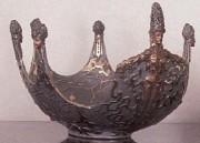 """""""Ocean Bowl II"""" Bronze Object of Art by Erte"""
