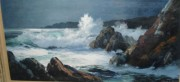 """Untitled"" Seascape Original Oil on Canvas by Marshall Merritt"
