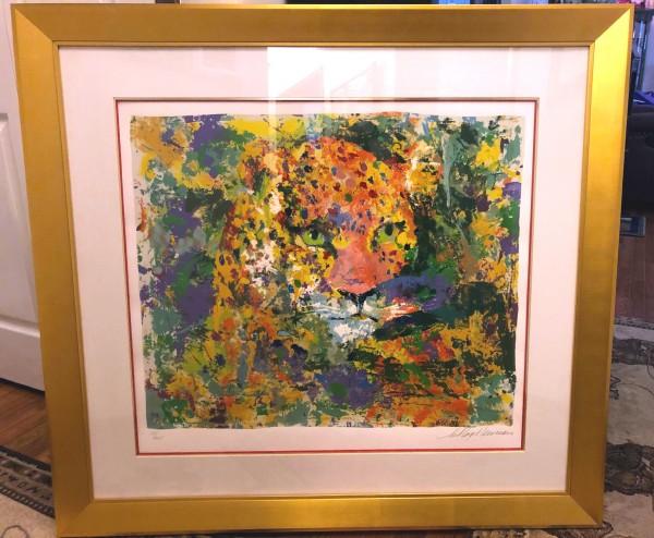 """Portrait of the Leopard"" Serigraph by LeRoy Neiman"